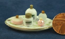 Dolls House Perfume Tray