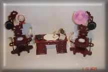 dollshouse office furniture ans accessories