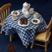 Dolls house Tea Tables