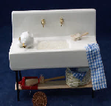 Dolls house sink