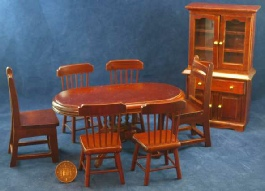 Dolls house furniture set