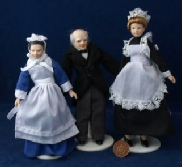 Dolls house Servants