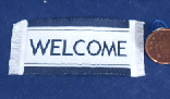 dollhouse welcome mat